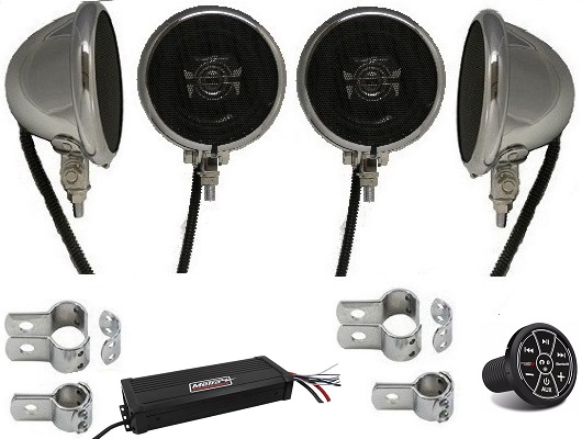 Mega Extreme Motorcycle Speaker System BLUETOOTH EDITION