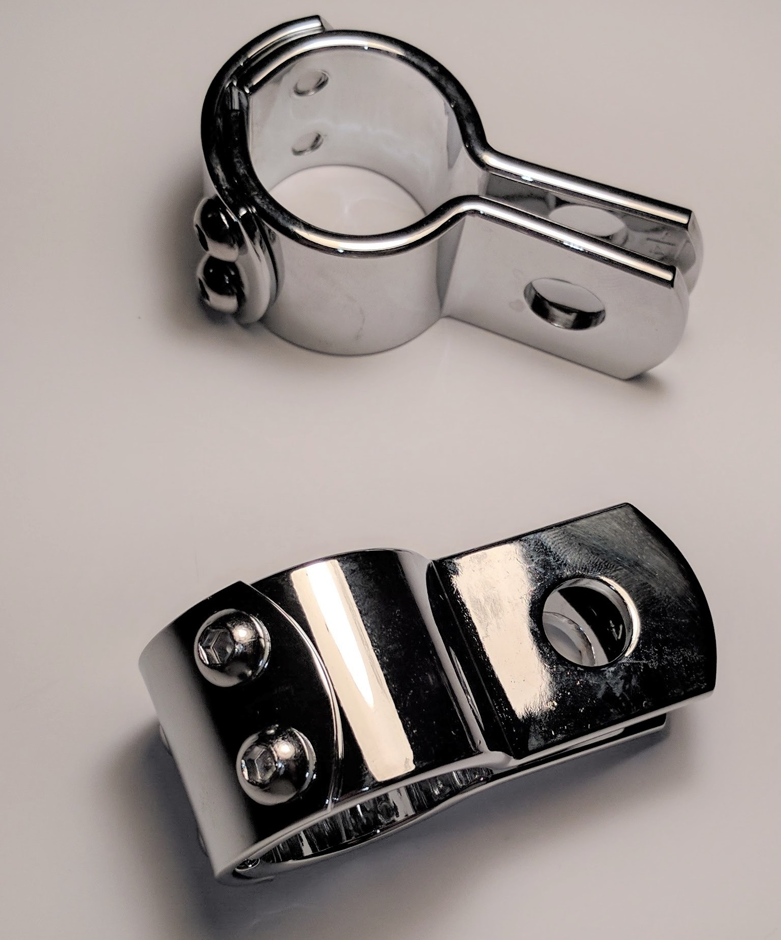 Chrome Clamps