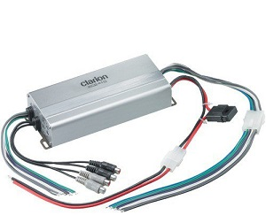 Clarion Marine Amplifier 50Wx4 or 150Wx2 RMS