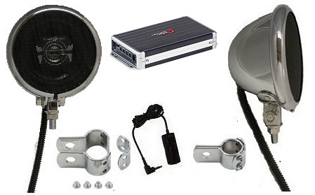 Ultra Premium Chrome - 400 Watt Polk Speaker System