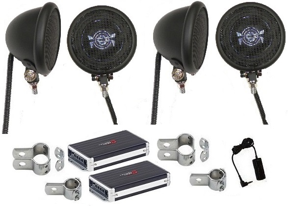 Insane Black - 800 Watt Polk Speaker System